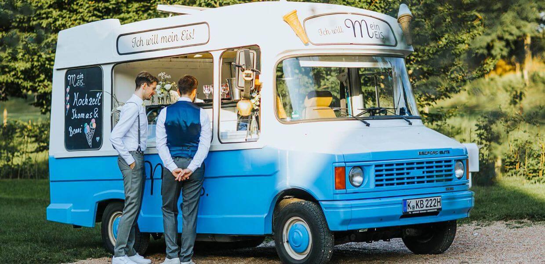 Eiswagen Mein Eis Köln Catering Oldtimer Mobil Speiseeis Bonn Düsseldorf